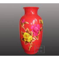 供应厂家定做麦杆花瓶 鑫腾陶瓷