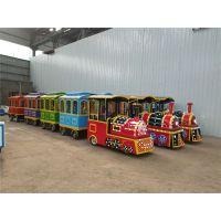 新款仿古小火车 儿童游乐场设备 无轨观光小火车智宝乐设备厂家热销