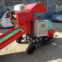 山东永康YK225青贮打捆机玉米秸秆