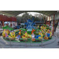 龙之盈游乐厂家热销大型儿童户外轨道小火车游乐设备欢乐打地鼠 LZY_HLDDS_8