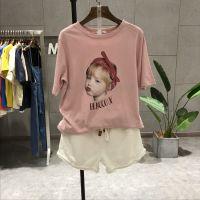 沙河便宜夏季T恤韩版时尚大版短袖女士上衣几块钱短袖清货2元批发工厂直销