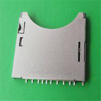 生产制造商连欣科技供应SD卡座PUSH二合一带锁扣高质量