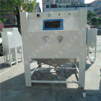 不锈钢板材手动喷砂机