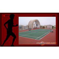 承接安吉、宁波、兴化、泰州等地弹性丙烯酸篮球、排球等球场地坪工程