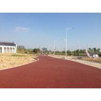 专业供应海绵城市牌彩色透水地坪 彩色混凝土