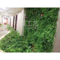 浩晟工艺 招牌仿真植物墙 独特设计 专业设计主题植物墙 假植物墙 塑料绿植墙 过胶手感叶
