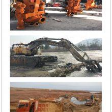 8寸液压泥浆泵\环境治理液压污泥泵\治理淤泥的挖机前属工具