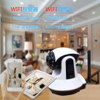 WiFi+GSM防盗报警器  店铺防盗报警器 WiFi远程监控红外线防盗器