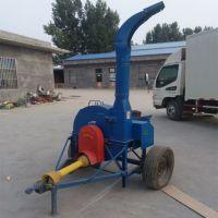 现货供应青贮饲料铡草机 新型干湿秸秆自动进料切草机