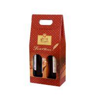 工厂设计生产一条龙 红酒纸盒 双支红酒纸盒 包装盒