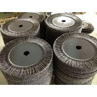 供应出口德国品质高强度扭丝平行钢丝刷300mm丝粗0.8mm