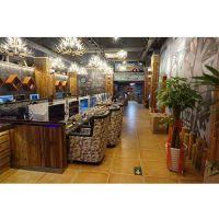 豪华复古网吧桌椅-温州网吧桌椅参数-培荣家具