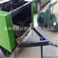 高效节能玉米秸秆打包机 全自动饲料青储打捆机