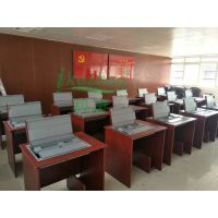 科桌家具供应批发手动翻转电脑桌 单人桌子翻转器 翻转式电脑桌