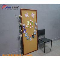肇庆彩色软木板F盐田公告栏便签贴板X进口木质照片墙