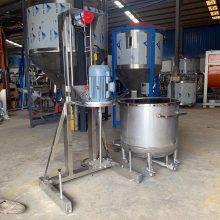 直销胶黏剂分散机 树脂胶水分散机 粉液搅拌机 加热分散机生产厂家