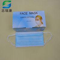 惠州三层无纺布口罩生产厂家工业防尘口罩