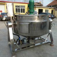 燃气夹层锅锅厂家 搅拌夹层锅