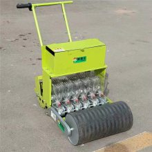 玉米手推式精播机 手扶车带动的玉米播种机 润众