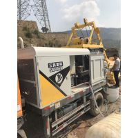 农村小型较轮混凝土输送泵