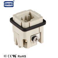 重载连接器3芯航空插头接线端子HA-003-F矩形连接器厂家