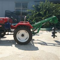 安吉拖拉机前置挖坑机 富兴手提式栽树挖坑机 拖拉机打孔埋杆机厂家价格
