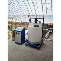 指导安装水肥一体机 高效精准施肥农业灌溉