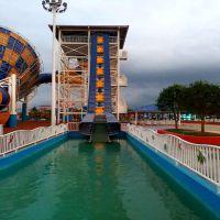 上海销售大型户外水上乐园产品 巨兽碗皮筏提升输送线 定制安装