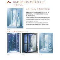 热卖淋浴房内雕玻璃