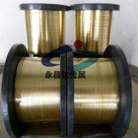 进口全软黄铜线,高精C2680黄铜带,弹簧/螺丝黄铜线