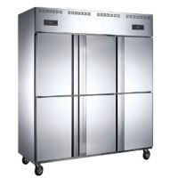 商用厨房制冷设备一站式采购基地山西厨具营行六门立式冰箱