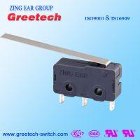 ZING EAR G6 5A小型通用型 水泵玩具电动 家电微动开关认证欧姆龙ULCUL