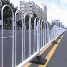 文昌市政护栏现货 交通分隔栅栏定做 三亚机动车中心分离栏杆报价