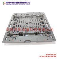 SMT载板精密 CNC加工中心来图来样机械加工 PCB板装载板铝合金硬质阳极氧化