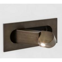 出口全球厂家直销 2018欧美现代简约自动开关嵌入式LED壁灯酒店工程床头阅读灯 卧室客房led壁灯
