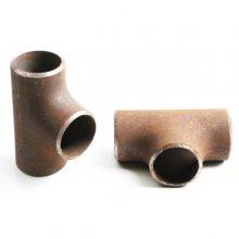 龙图管业直销等径对焊三通 不锈钢无缝三通