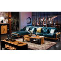 V152实木沙发+V156长茶几+V138电视柜+V169鞋柜+V172置物架