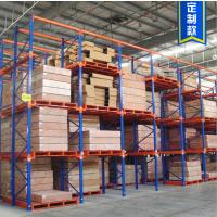 货架厂直供通廊式驶入货架 贯通式货架定做