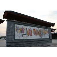 外墙陶瓷壁画定做,高温打印瓷器壁画厂家