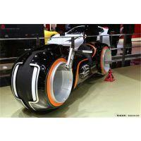 创战纪特隆摩托展示 光电摩托车 电动摩托车 概念车 电动车 极光