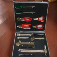 重庆新日牌防爆组合工具,成套双头梅花扳手,铜制活口扳手现货销售