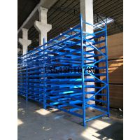卷轴布匹货架生产布匹纺织货架手袋厂、五金厂钢管仓库货架佛山厂家定制