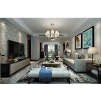 蓝天花园170平现代风格装修效果图半包6.25万