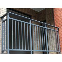 楼房防盗锌钢阳台栏杆,河北奔诺铁艺栏杆厂家可定做。