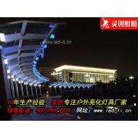 河北洛阳LED护栏管厂家简约精致优质灯具户外必备-推荐灵创照明
