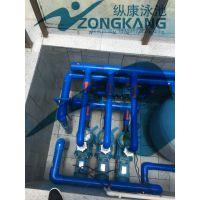 海南私人别墅泳池过滤设备_钢结构泳池水处理