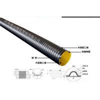 HDPE大口径排污水用缠绕管,钢带增强波纹管, 排污水钢带波纹管