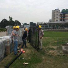新会绿化道路专用护栏价格 江门停车场焊接隔离栅上门安装的厂家