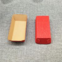 瓦楞蛋糕盒耐高温纸托 圆形瓦楞蛋糕纸托盒 咖啡色蛋糕纸盒