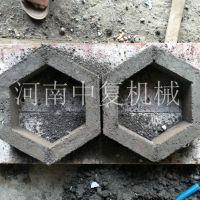 小型六角护坡砖免烧砖机